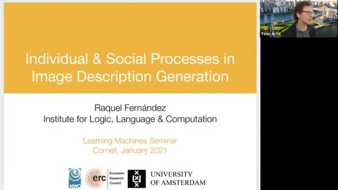 Thumbnail for entry 2.19.21 AI Seminar/LMSS-  Raquel Fernández, University of Amsterdam