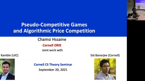 Thumbnail for entry 9.21.21 Chamsi Hssaine, Cornell University