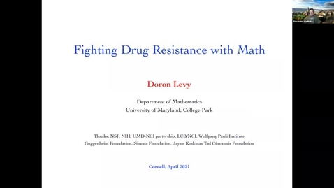 Thumbnail for entry CAM Colloquium - Doron Levy (4/16/21)