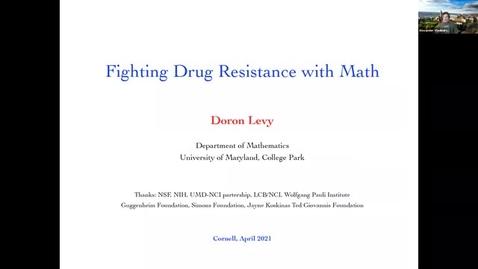 Thumbnail for entry CAM Colloquium - Doron Levy (4/16/21)