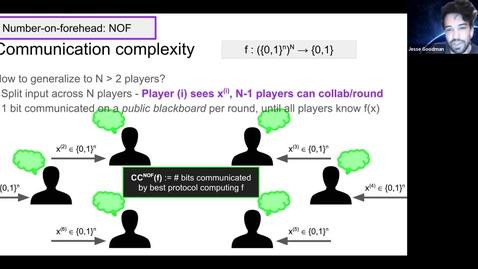 Thumbnail for entry 11.3.20 Jesse Goodman, PhD at Cornell University