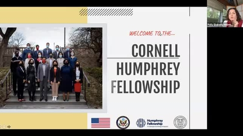 Thumbnail for entry 2021-22 Humphrey Fellows Welcome Session