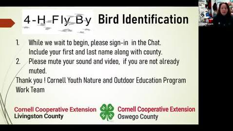 Thumbnail for entry 4-H Fly By- Bird Identification