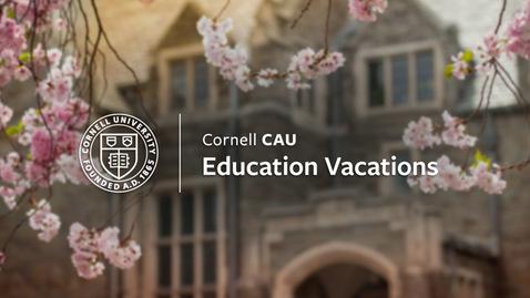 Thumbnail for entry CAU Webinar with Eric Tagliacozzo