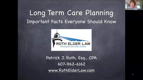 Thumbnail for entry Long Term Care, Asset Protection