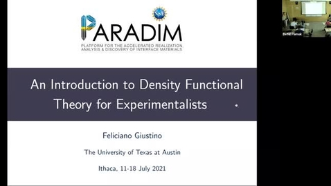 Thumbnail for entry PARADIM DFT Summer School 2021 - Lecture 3.2 - Elastic Properties