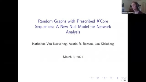 Thumbnail for entry 3.8.21 Katherine Van Koevering, PhD Cornell University