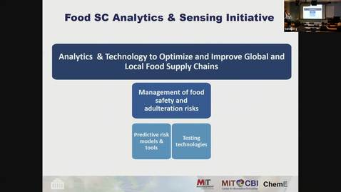 Thumbnail for entry ORIE Colloquium, 2019-03-05 - Retsef Levy: Analytics and Technology to Optimize and Improve Global and Local Food Supply Chains