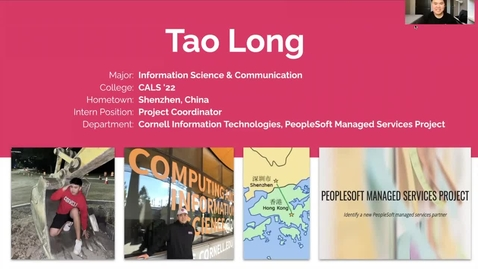 Thumbnail for entry Tao Long - PeopleSoft Managed Services