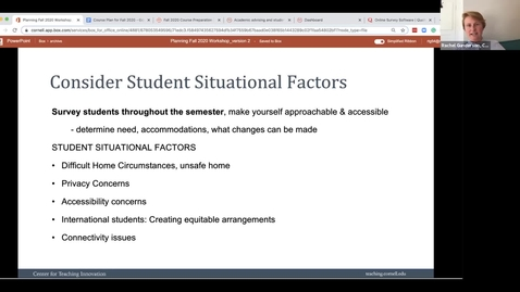 Thumbnail for entry Student Situations & Learning Outcomes