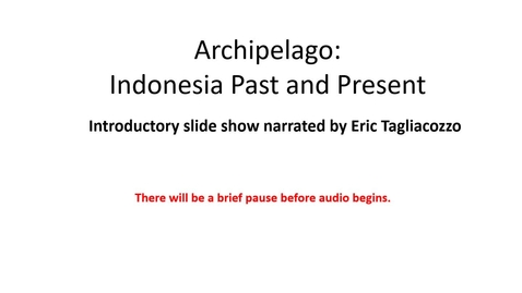 Thumbnail for entry Archipelago_IntroTalk
