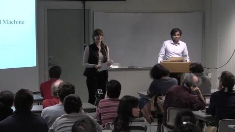 Thumbnail for entry CAM Colloquium, 2016-05-06 - Sendhil Mullamathan: Human Decisions and Machine Predictions
