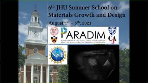 Thumbnail for entry PARADIM Summer School 2021: Closing