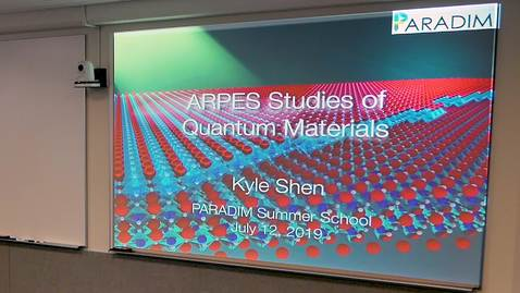 Thumbnail for entry ARPES Studies of Quantum Materials - Unconventional Superconductors and Topological Materials. (Shen)