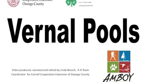 Thumbnail for entry CCEOswegoVernal Pools