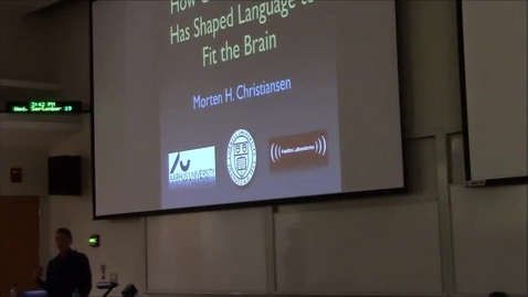 Thumbnail for entry How cultural evolution has shaped language to fit the brain