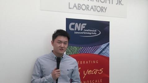 Thumbnail for entry Meng Huang - NanoNuggets NanoDays 2016