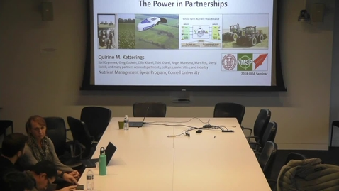 Thumbnail for entry Technology and Our Land-Grant University Mission in Nutrient Management, The Power in Partnerships