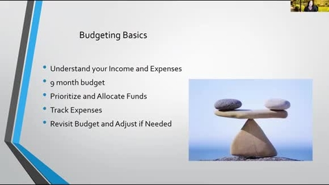 Thumbnail for entry Class of 2025 Budget Webinar