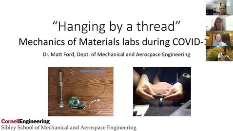 Thumbnail for entry Covid-Era Laboratory Teaching: Part 1