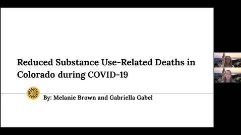 Thumbnail for entry Reduced Substance-Use Related Deaths in Colorado During COVID-19