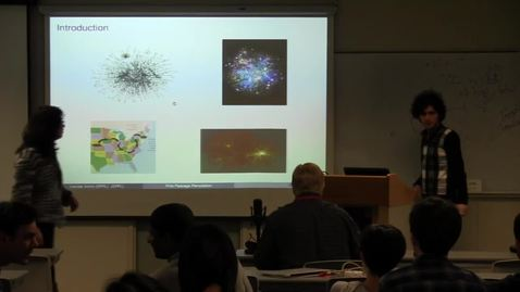 Thumbnail for entry CAM Colloquium, 2013-12-06 - Hamed Amini: Shortest-weight Paths in Random Graphs