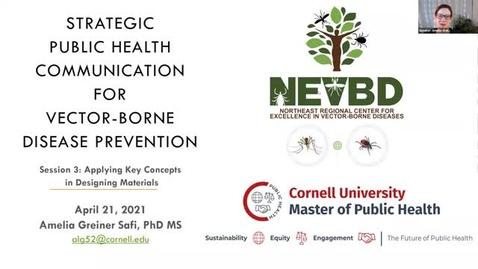 Thumbnail for entry Public Health Communications Lecture Series - Day 3, April 21, 2021
