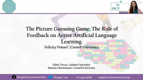 Thumbnail for entry The Picture Guessing Game: The Role of Feedback in Active Artificial Language Learning