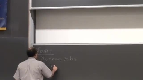 Thumbnail for entry 06 - Vectors geometry linear transformations and transformation matrices Session 6
