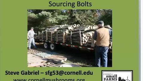 Thumbnail for entry Webinar on Soucing Shiitake Bolts
