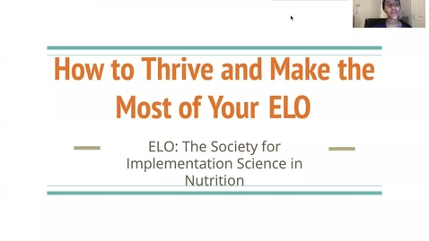 Thumbnail for entry How to Thrive and Make the Most of Your Remote ELO