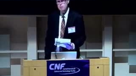 Thumbnail for entry CNF 35th Anniversary - Introductory Remarks