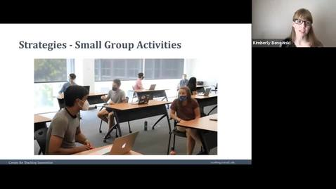 Thumbnail for entry Teaching strategies - Small Group Activities