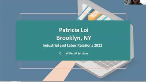 Thumbnail for entry Patricia Loi - Retail Services