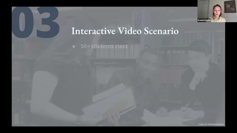 Thumbnail for entry Interactive Video Sample Scenario