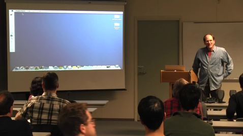 Thumbnail for entry CAM Colloquium, 2014-02-07 - Steve Strogatz: Writing About Math for the New York Times
