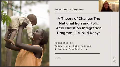 Thumbnail for entry A Theory of Change: The National Iron and Folic Acid Nutrition Integration Program (IFA-NIP) Kenya