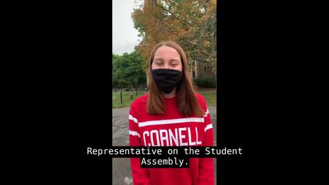 Thumbnail for entry Amari Lampert - Freshman Representative Candidate (Fall 2020 Student Assembly Elections)