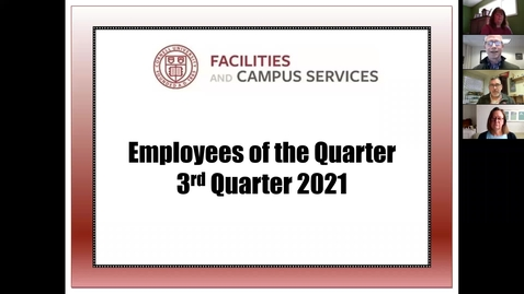 Thumbnail for entry FCS 3rd Qtr 2021 Employee of the Quarter celebration  (4.22.21)