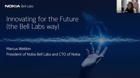 Thumbnail for entry Cornell DPE Sloan Lunch featuring Bell Labs 10Nov2020