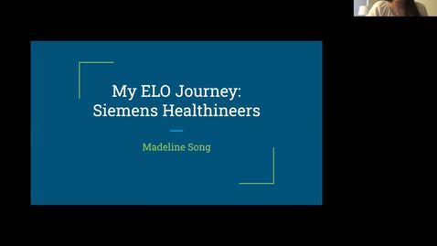 Thumbnail for entry ELO Engaged Learning Presentation - Madeline Song