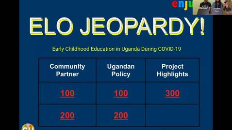 Thumbnail for entry Early Childhood Education in Uganda: A Virtual ELO
