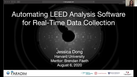 Thumbnail for entry Jessica Dong 2020 REU final presentation