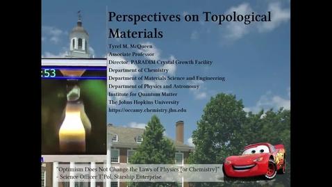 Thumbnail for entry McQueen-PerspectivesTopologicalMaterials