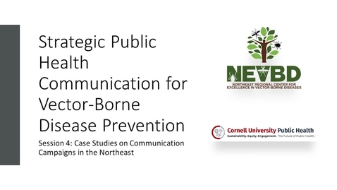 Thumbnail for entry Public Health Communications Lecture Series - Day 4 - May 5, 2021