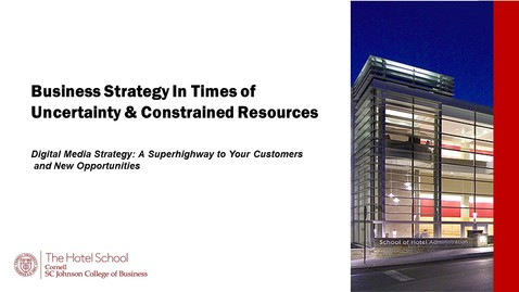 Thumbnail for entry #3 Digital Media Strategy: A Superhighway to Your Customers and New Opportunities