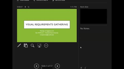 Thumbnail for entry DrupalCamp 2018: Visual Requirements Gathering