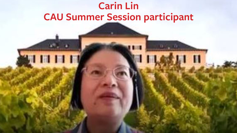 Thumbnail for entry Carin Lin on Evaluating Wines