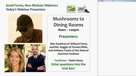 Thumbnail for entry Mushrooms to Dining Rooms: Meet the People Behind the Food Chain