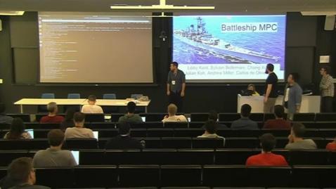 Thumbnail for entry Battleship MPC -- Professor Andrew Miller and Team